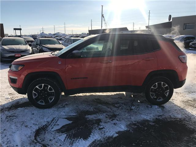 2017 Jeep Compass Trailhawk (Stk: 1718711) in Thunder Bay - Image 2 of 14