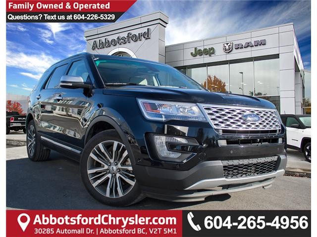 2016 Ford Explorer Platinum (Stk: H845061A) in Abbotsford - Image 1 of 30