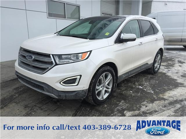 2015 Ford Edge Titanium (Stk: J-605A) in Calgary - Image 1 of 10