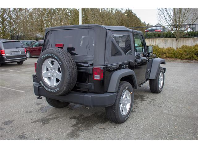 2017 Jeep Wrangler Sport (Stk: H650208) in Abbotsford - Image 7 of 23