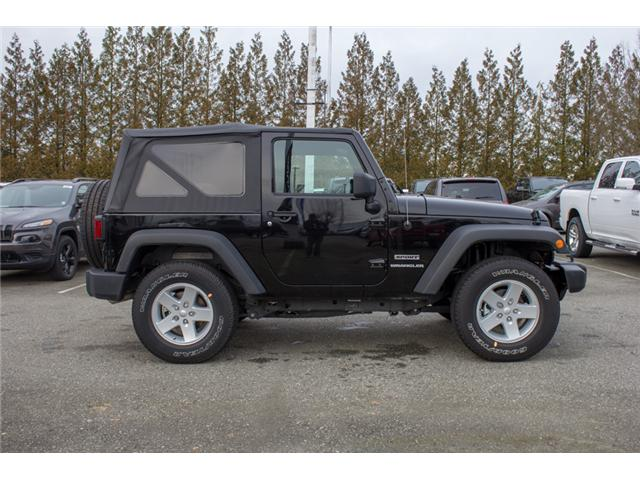 2017 Jeep Wrangler Sport (Stk: H650208) in Abbotsford - Image 8 of 23