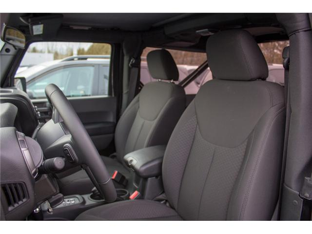2017 Jeep Wrangler Sport (Stk: H650208) in Abbotsford - Image 11 of 23