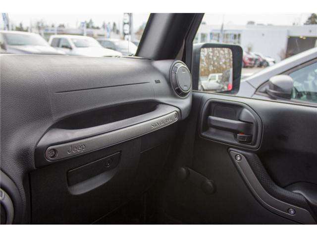 2017 Jeep Wrangler Sport (Stk: H650208) in Abbotsford - Image 20 of 23