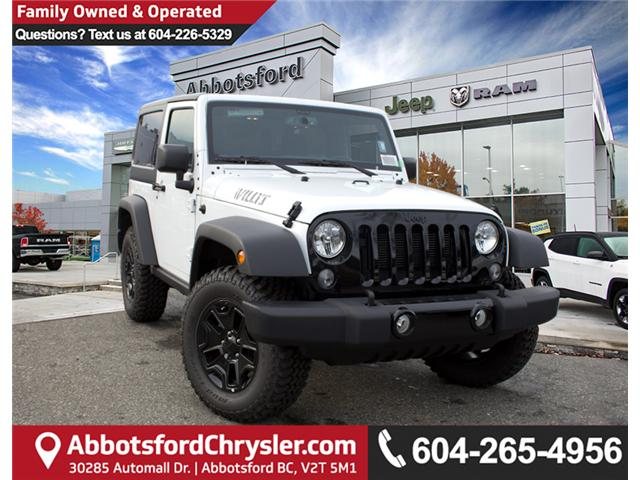 2017 Jeep Wrangler Sport (Stk: H708387) in Abbotsford - Image 1 of 24