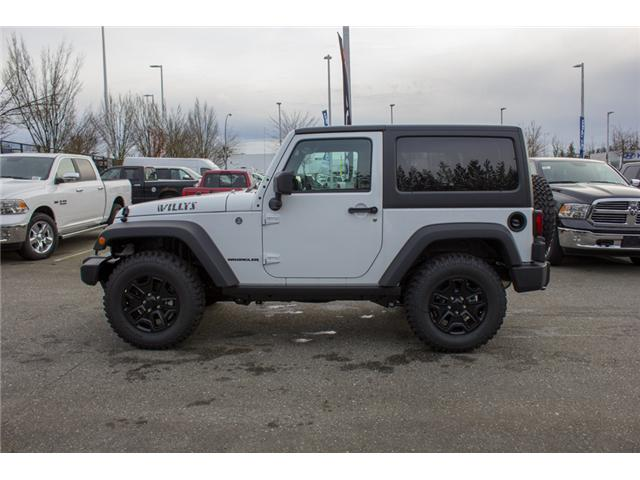 2017 Jeep Wrangler Sport (Stk: H708387) in Abbotsford - Image 4 of 24