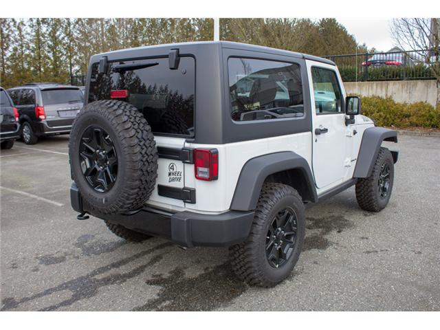 2017 Jeep Wrangler Sport (Stk: H708387) in Abbotsford - Image 7 of 24