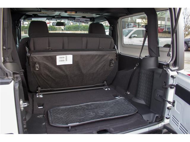 2017 Jeep Wrangler Sport (Stk: H708387) in Abbotsford - Image 10 of 24