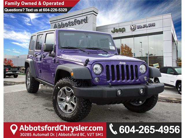 2017 Jeep Wrangler Unlimited Rubicon (Stk: H709531) in Abbotsford - Image 1 of 28