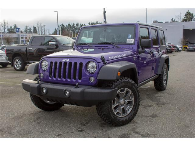2017 Jeep Wrangler Unlimited Rubicon (Stk: H709531) in Abbotsford - Image 3 of 28