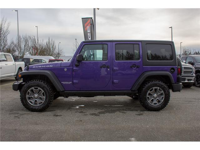 2017 Jeep Wrangler Unlimited Rubicon (Stk: H709531) in Abbotsford - Image 4 of 28