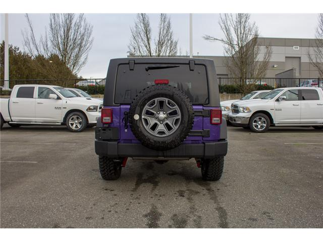 2017 Jeep Wrangler Unlimited Rubicon (Stk: H709531) in Abbotsford - Image 6 of 28