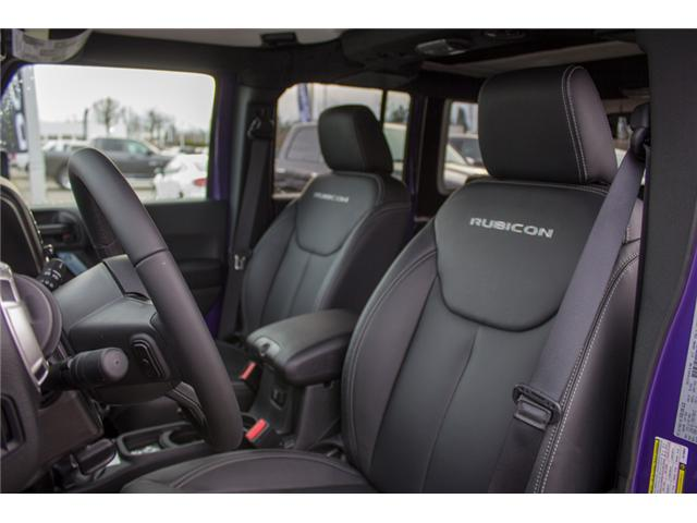 2017 Jeep Wrangler Unlimited Rubicon (Stk: H709531) in Abbotsford - Image 13 of 28
