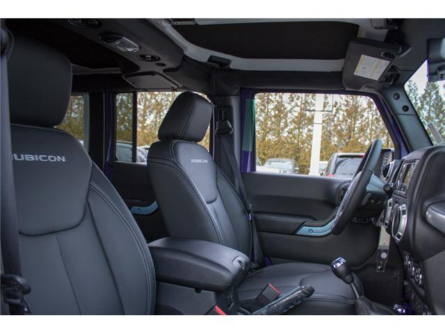 2017 Jeep Wrangler Unlimited Rubicon (Stk: H709531) in Abbotsford - Image 16 of 28