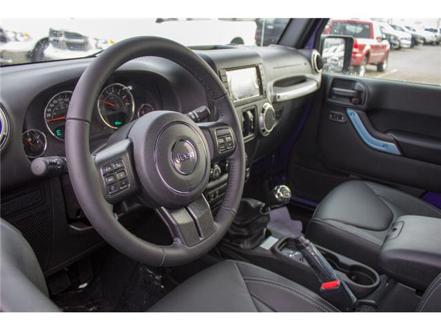 2017 Jeep Wrangler Unlimited Rubicon (Stk: H709531) in Abbotsford - Image 17 of 28