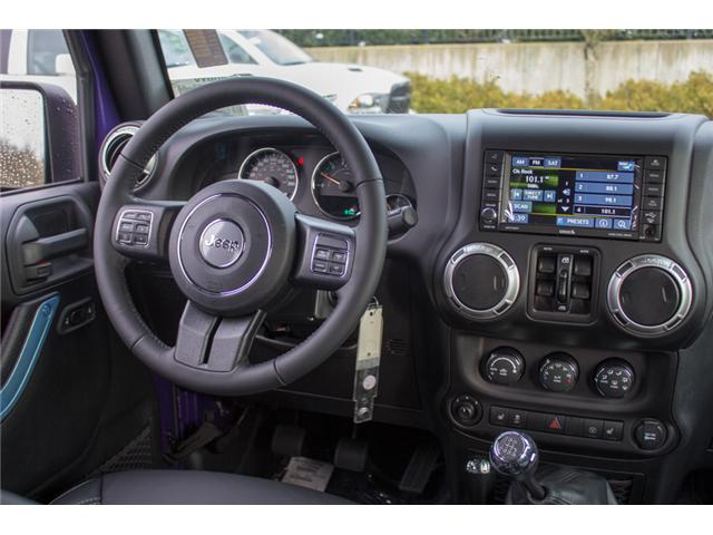 2017 Jeep Wrangler Unlimited Rubicon (Stk: H709531) in Abbotsford - Image 19 of 28