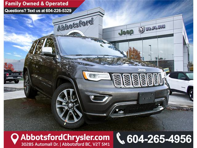 2018 Jeep Grand Cherokee Overland (Stk: J268195) in Abbotsford - Image 1 of 29