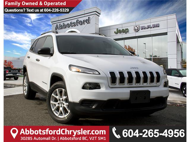 2018 Jeep Cherokee Sport (Stk: J520044) in Abbotsford - Image 1 of 30