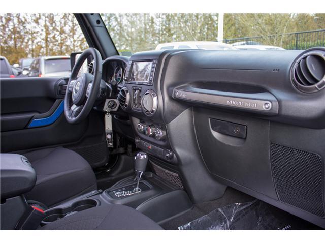 2018 Jeep Wrangler JK Unlimited Sport (Stk: J841800) in Abbotsford - Image 18 of 28