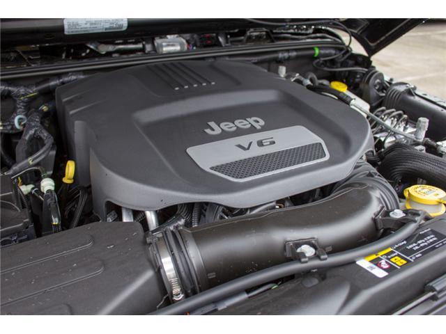2018 Jeep Wrangler JK Unlimited Sport (Stk: J841800) in Abbotsford - Image 9 of 28