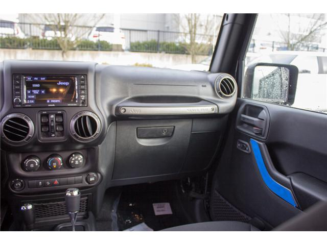 2018 Jeep Wrangler JK Unlimited Sport (Stk: J841800) in Abbotsford - Image 19 of 28