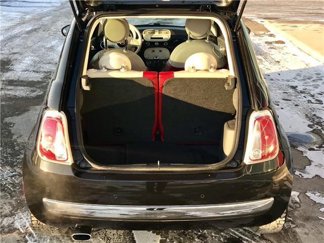 2013 Fiat 500 Lounge (Stk: P62621) in Regina - Image 10 of 21