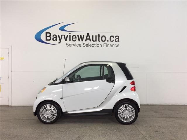 2013 Smart Fortwo - AUTO|KEYLESS ENTRY|A/C|BLUETOOTH|LOW KM! (Stk: 31861) in Belleville - Image 1 of 21