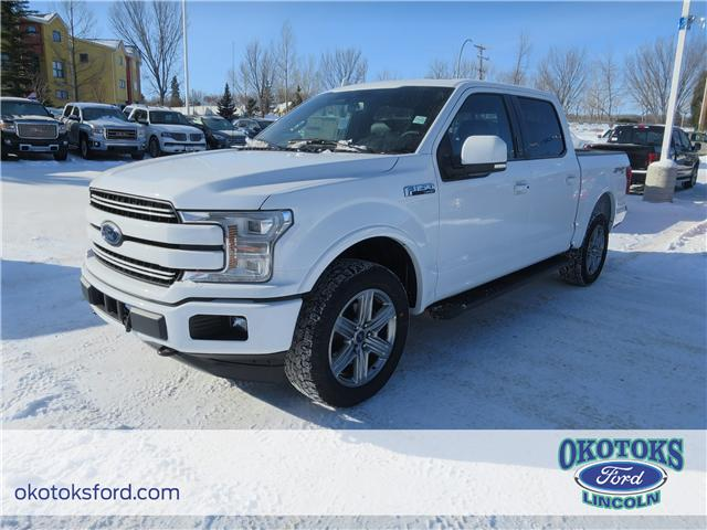 2018 Ford F-150 Lariat (Stk: JK-189) in Okotoks - Image 1 of 5