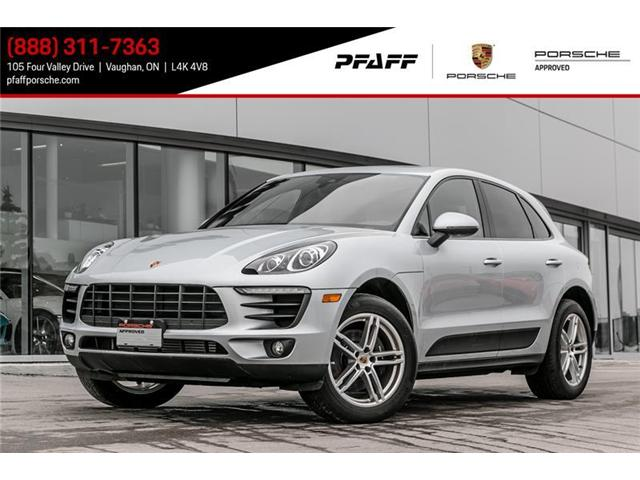 2017 Porsche Macan  (Stk: U6887) in Vaughan - Image 1 of 13