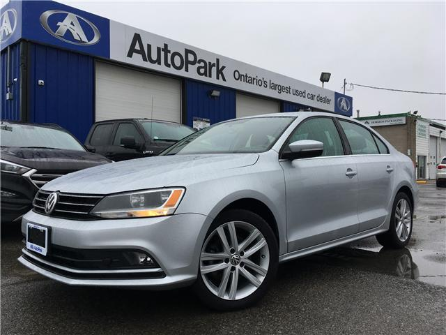 2015 Volkswagen Jetta 2.0 TDI Highline (Stk: 15-17900) in Georgetown - Image 1 of 25