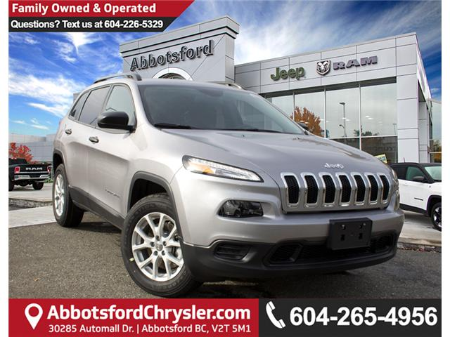 2018 Jeep Cherokee Sport (Stk: J517552) in Abbotsford - Image 1 of 30