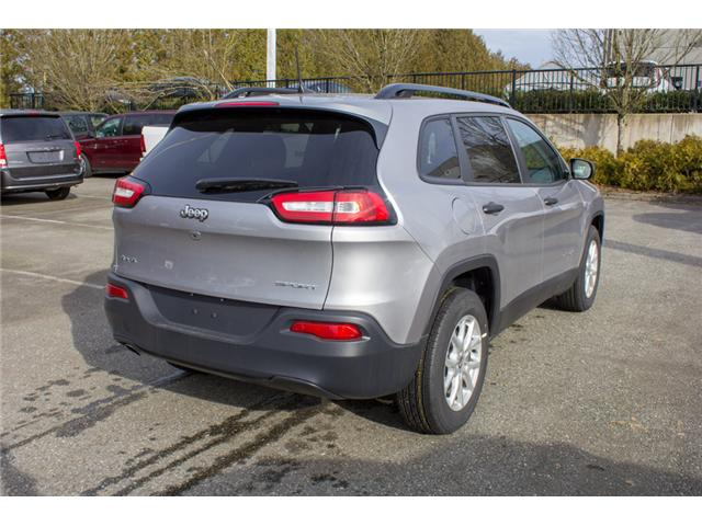 2018 Jeep Cherokee Sport (Stk: J517552) in Abbotsford - Image 7 of 30