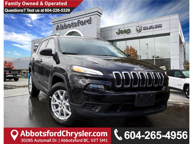 2018 Jeep Cherokee Sport (Stk: J517556) in Abbotsford - Image 1 of 27