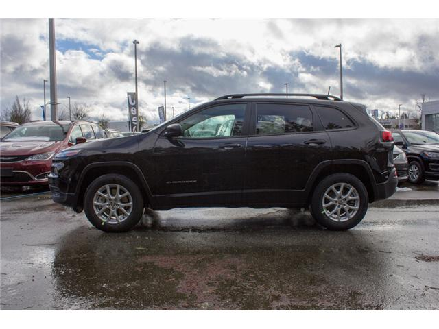2018 Jeep Cherokee Sport (Stk: J517556) in Abbotsford - Image 4 of 27