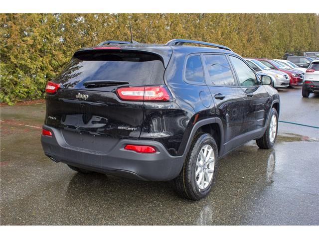 2018 Jeep Cherokee Sport (Stk: J517556) in Abbotsford - Image 7 of 27