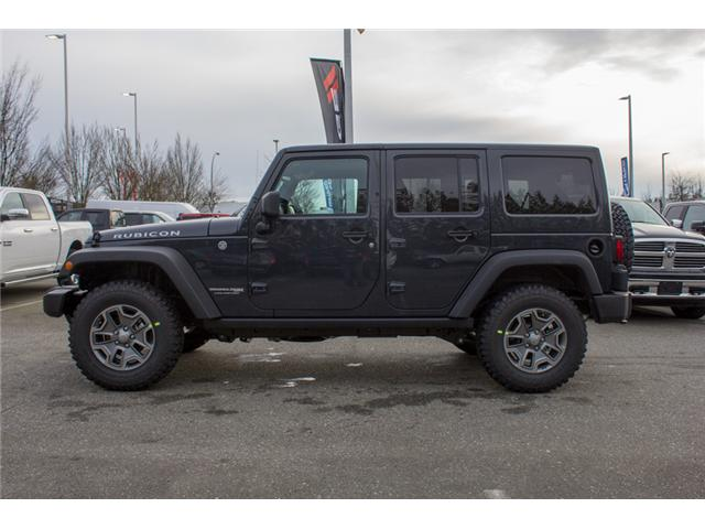 2018 Jeep Wrangler JK Unlimited Rubicon (Stk: J834268) in Abbotsford - Image 4 of 30