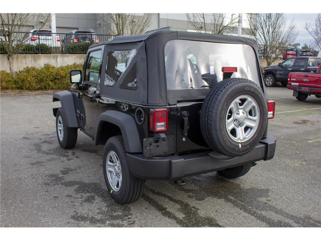 2018 Jeep Wrangler JK Sport (Stk: J846012) in Abbotsford - Image 5 of 26