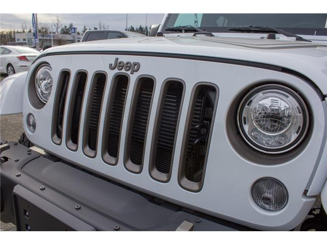2018 Jeep Wrangler JK Unlimited Sport (Stk: J857778) in Abbotsford - Image 9 of 27