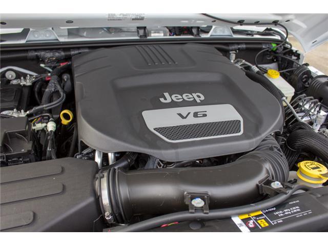 2018 Jeep Wrangler JK Unlimited Sport (Stk: J857778) in Abbotsford - Image 12 of 27