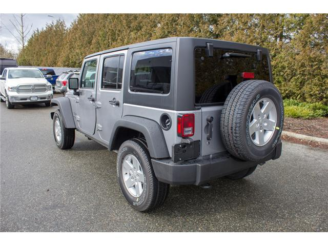 2018 Jeep Wrangler JK Unlimited Sport (Stk: J857922) in Abbotsford - Image 5 of 26