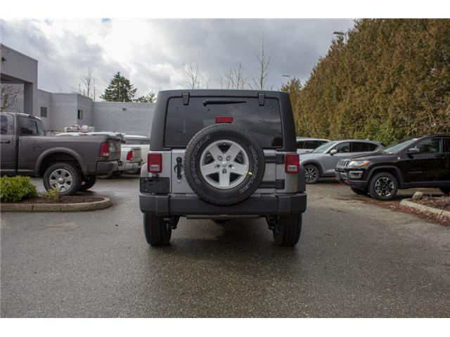 2018 Jeep Wrangler JK Unlimited Sport (Stk: J857922) in Abbotsford - Image 6 of 26