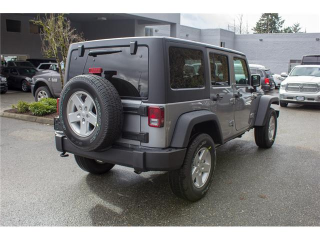 2018 Jeep Wrangler JK Unlimited Sport (Stk: J857922) in Abbotsford - Image 7 of 26