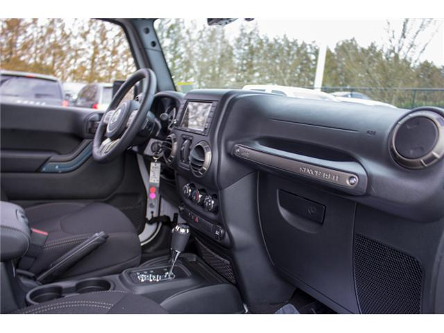 2018 Jeep Wrangler JK Unlimited Sport (Stk: J857778) in Abbotsford - Image 19 of 27