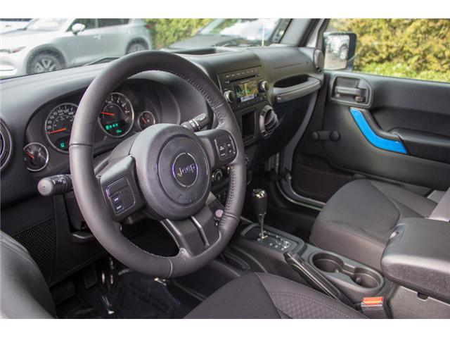 2018 Jeep Wrangler JK Unlimited Sport (Stk: J857922) in Abbotsford - Image 13 of 26