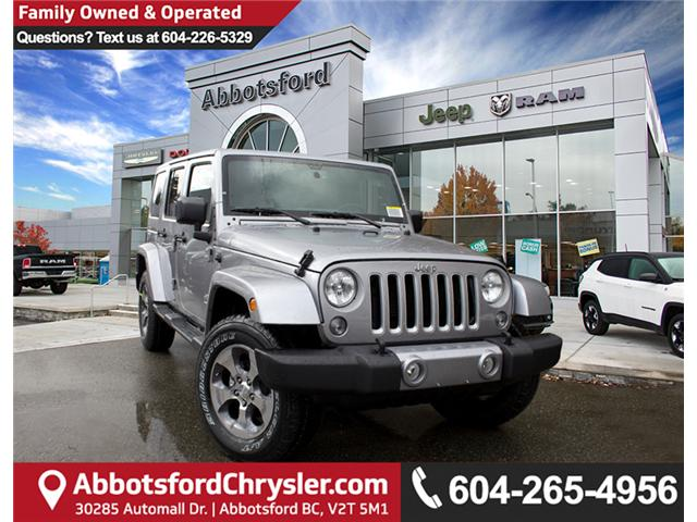 2018 Jeep Wrangler JK Unlimited Sahara (Stk: J863952) in Abbotsford - Image 1 of 29