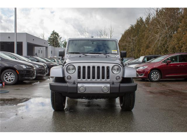 2018 Jeep Wrangler JK Unlimited Sahara (Stk: J863952) in Abbotsford - Image 2 of 29