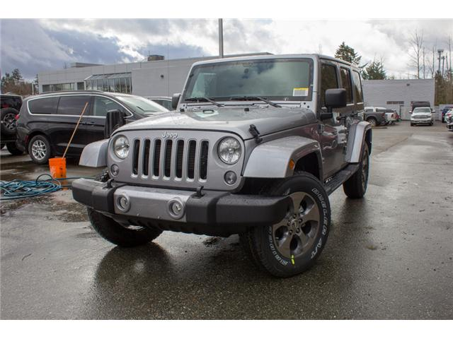 2018 Jeep Wrangler JK Unlimited Sahara (Stk: J863952) in Abbotsford - Image 3 of 29