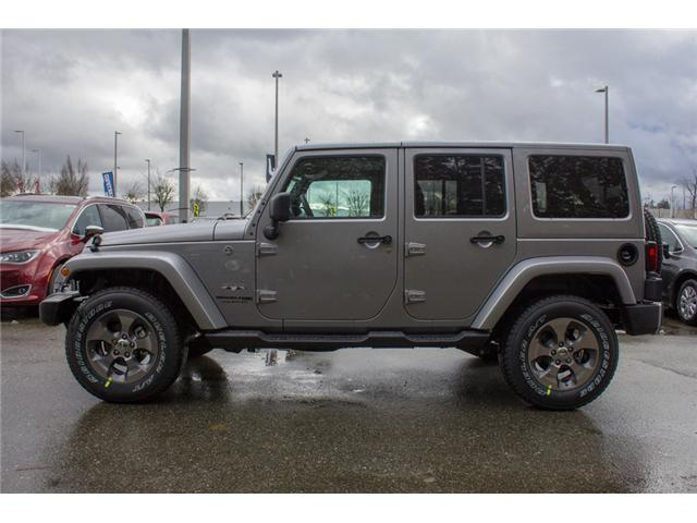2018 Jeep Wrangler JK Unlimited Sahara (Stk: J863952) in Abbotsford - Image 4 of 29