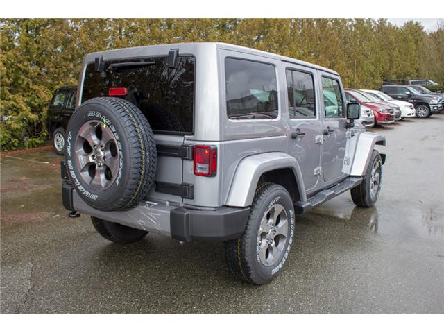 2018 Jeep Wrangler JK Unlimited Sahara (Stk: J863952) in Abbotsford - Image 7 of 29