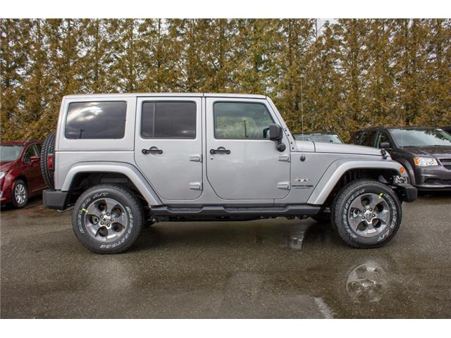 2018 Jeep Wrangler JK Unlimited Sahara (Stk: J863952) in Abbotsford - Image 8 of 29