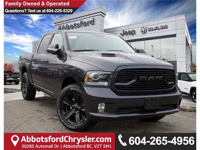 2018 RAM 1500 Sport (Stk: J176176) in Abbotsford - Image 1 of 30